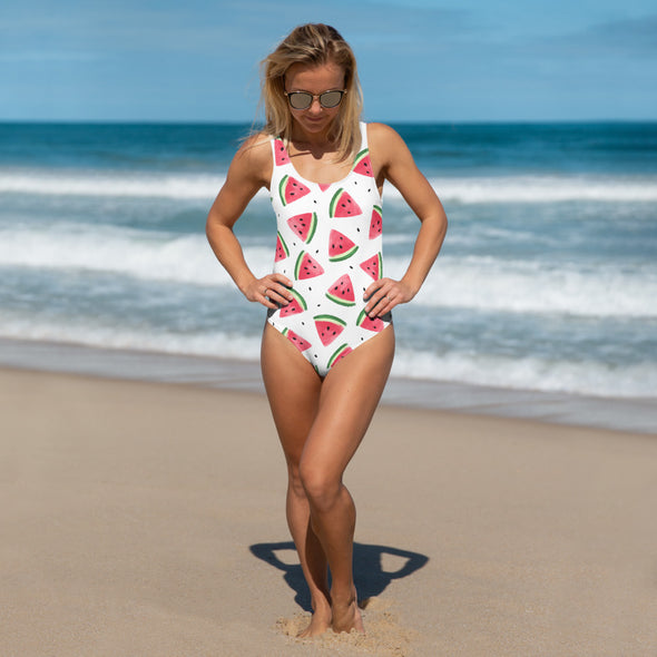 Sweet Like A Watermelon One-Piece Swimsuit