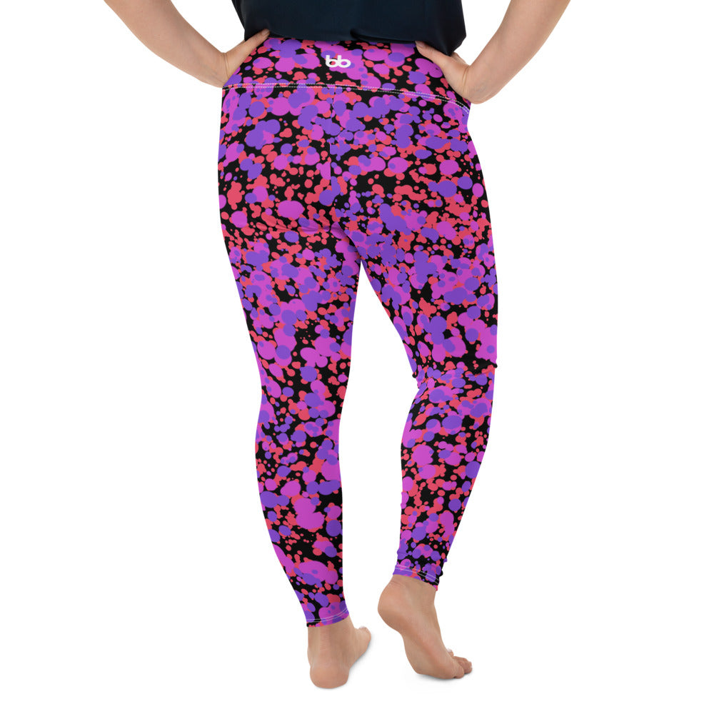 Crazy Cosmos Curvy Leggings