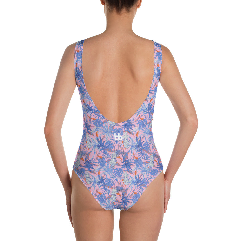 Tahiti Tropical Days One-Piece Swimsuit