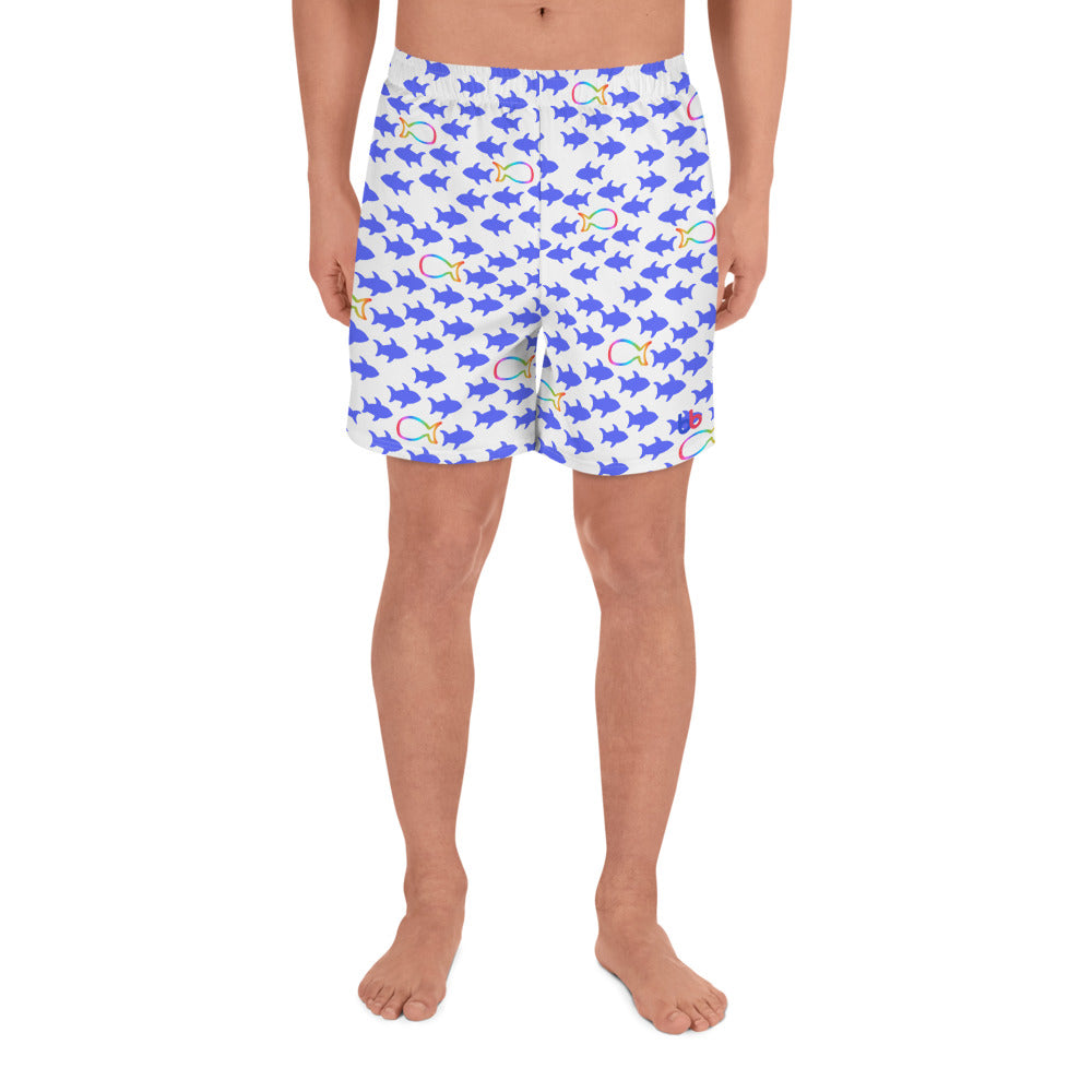 Go With The Rain-Flow Men's Shorts