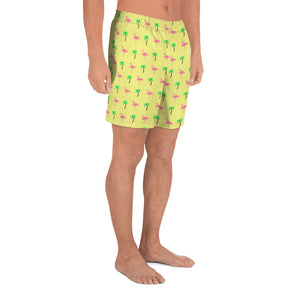 Palms & Flamingos Men's Shorts