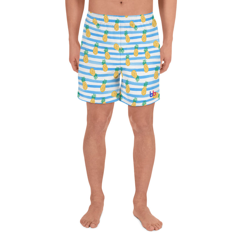 Blue Piña Party Men's Shorts