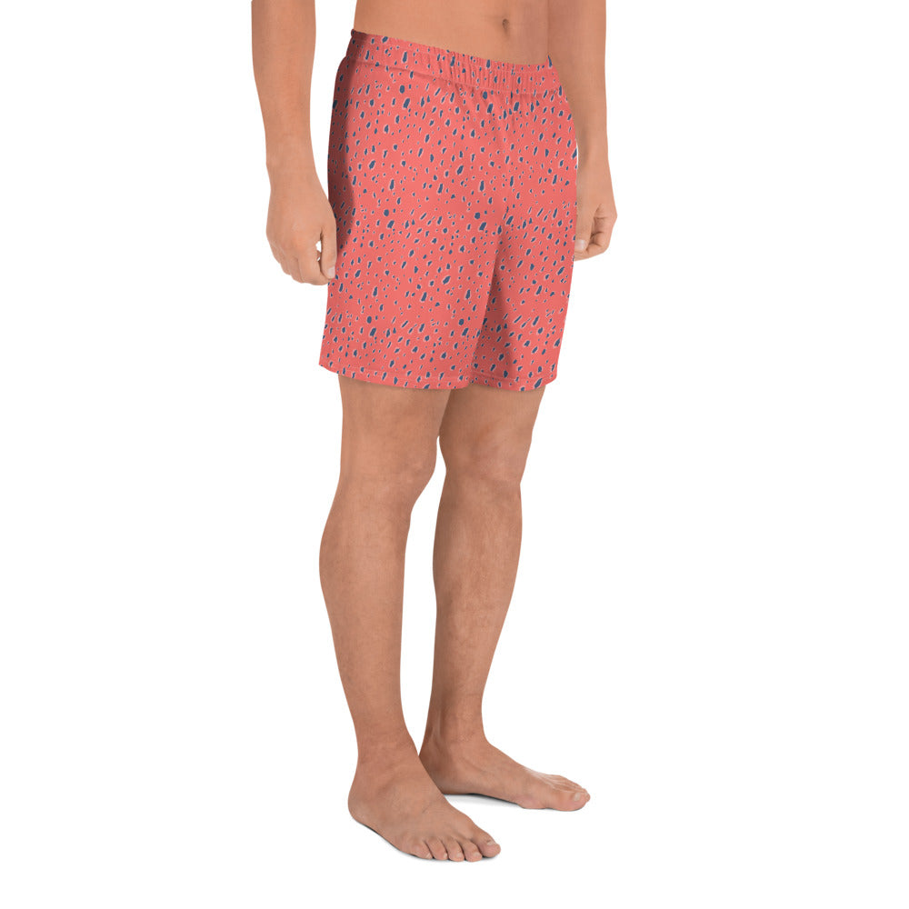 Coral Jaguar Men's Shorts