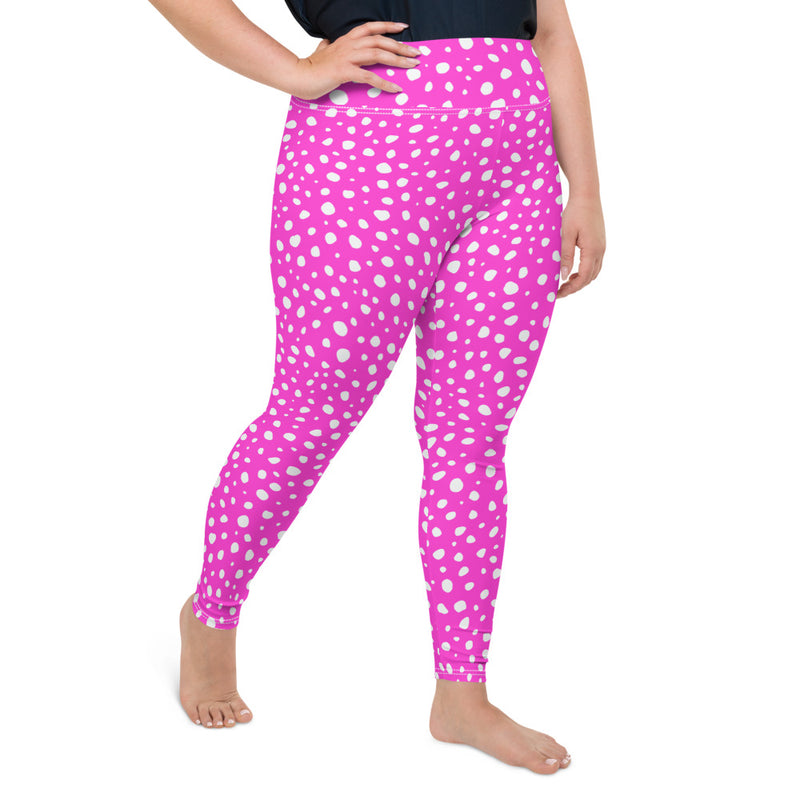 Pink Panther Curvy Leggings