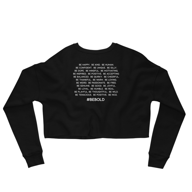 Be Everything Crop Sweatshirt