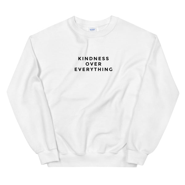 Kindness Over Everything Crewneck Sweatshirt