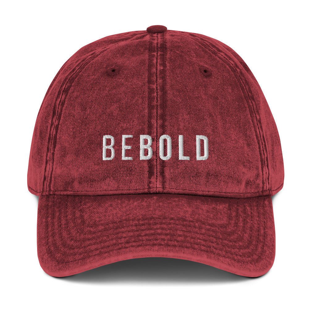 Be Bold Vintage Hat