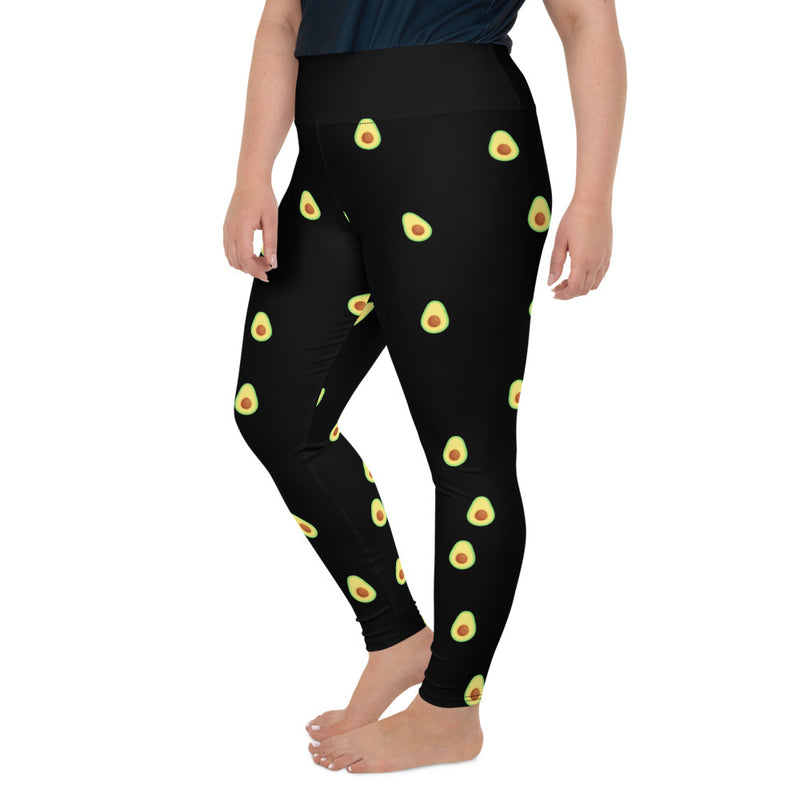 Avocado Is Extra Plus Size Party Leggings