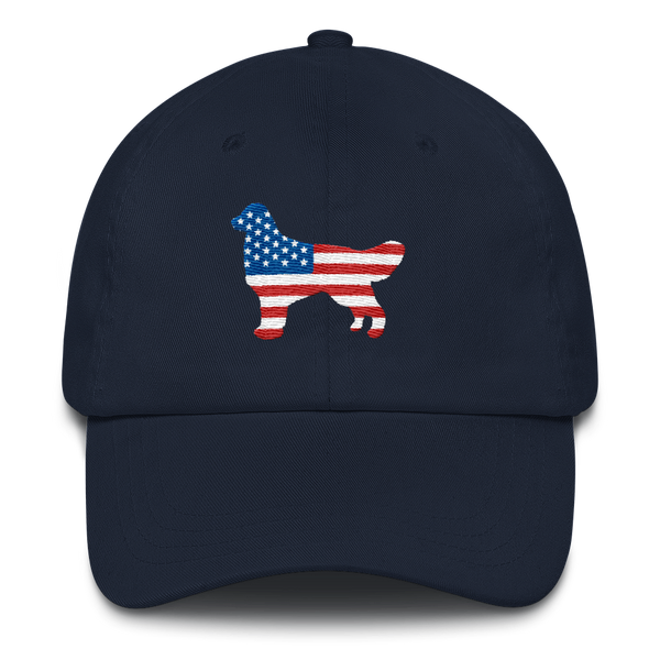 Dog bless America Dad Hat