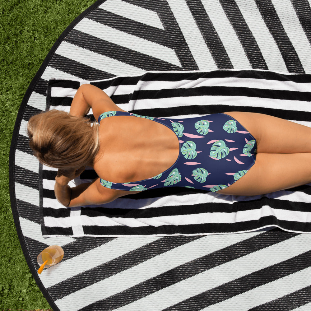 Keep Palm & Carry On One-Piece Swimsuit