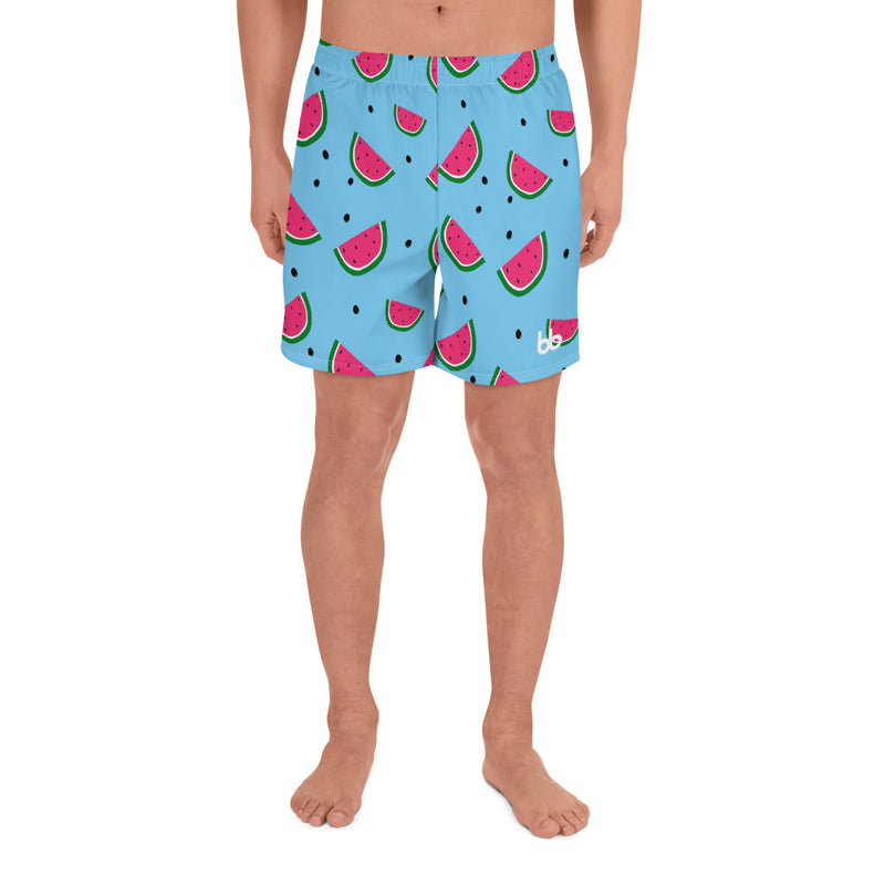 You're One In A Watermelon Print Men's Shorts