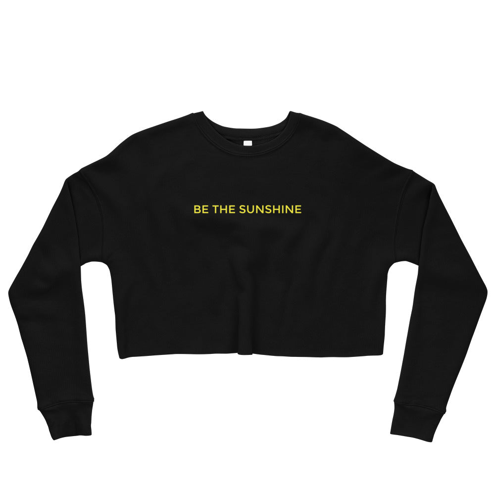 Be The Sunshine Crop Sweatshirt
