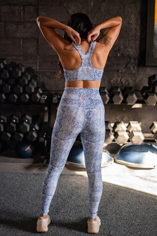 Snakeskin High Waisted Leggings
