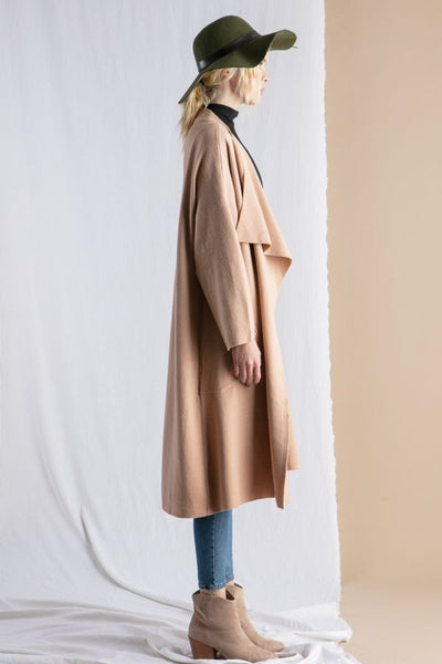 Lena Oversized Sweater Coat