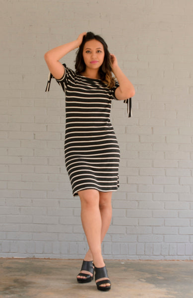 ATLAS STRIPE DRESS