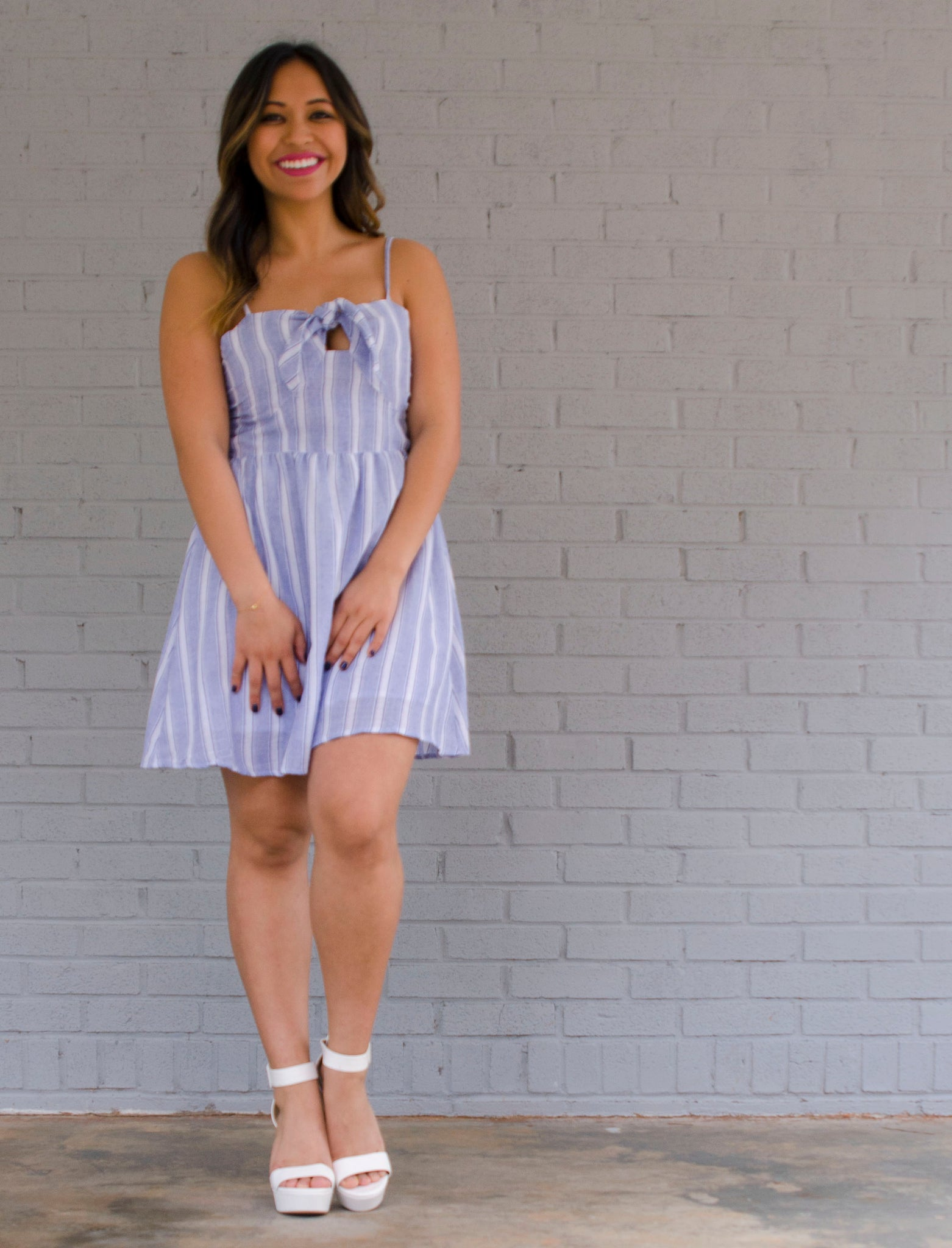 SHELBY STRIPE DRESS