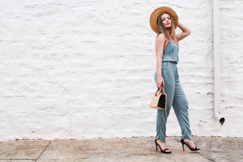 SEA FOAM JUMPSUIT