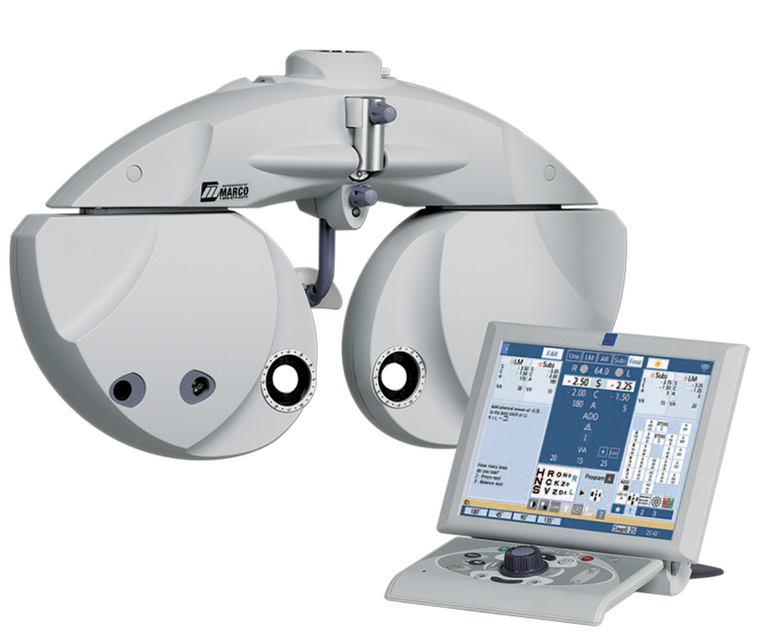 Eye Care Marco Digital Phoropter