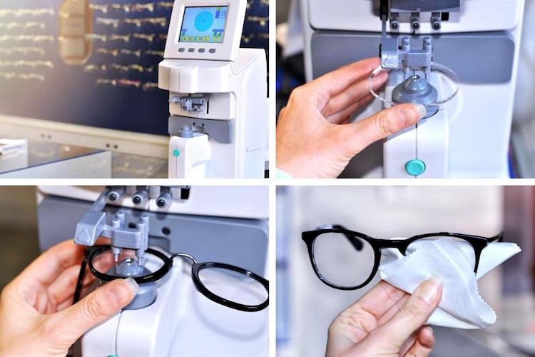 glasses repair, prescription analysis
