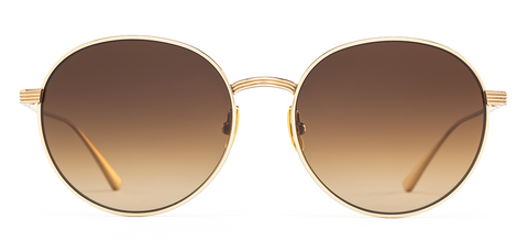 Salt Optics Brower in Honey Gold