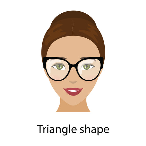 Triangle Face Shape