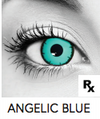 Angelic Blue Halloween Contact Lenses
