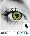 Angelic Green Halloween Contact Lenses