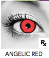 Angelic Red Halloween Contact Lenses