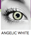 Angelic White Halloween Contact Lenses