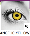 Angelic Yellow Halloween Contact Lenses