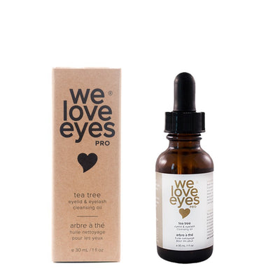 All Natural Tea Tree Cleansing Oil - We Love Eyes