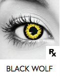 Wolf Halloween Contact Lenses
