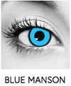 Blue Manson Halloween Contact Lenses