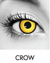 Crow Halloween Contact Lenses