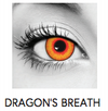 Dragon's Breath Halloween Contact Lenses