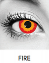 Fire Halloween Contact Lenses