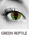 Green Reptile Halloween Contact Lenses
