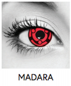 Madara Halloween Contact Lenses