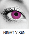 Night Vixen Halloween Contact Lenses