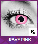 Pink Rave Halloween Contact Lenses