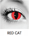 Red Cat Halloween Contact Lenses