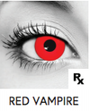 Red Vampire Halloween Contact Lenses