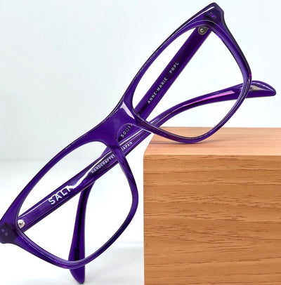 SALT Anne Marie purple eye glasses 1