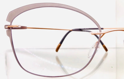 Silhouette Dynamic Colorwave eye glasses left side