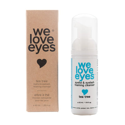 Foaming Tea Tree Eyelid Makeup Remover - We Love Eyes