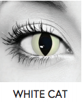 White Cat Halloween Contact Lenses