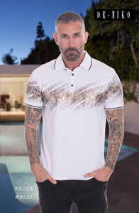 MEN'S SHIRT NK109 WHITE