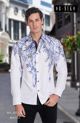 MEN'S SHIRT NK9015L WHITE