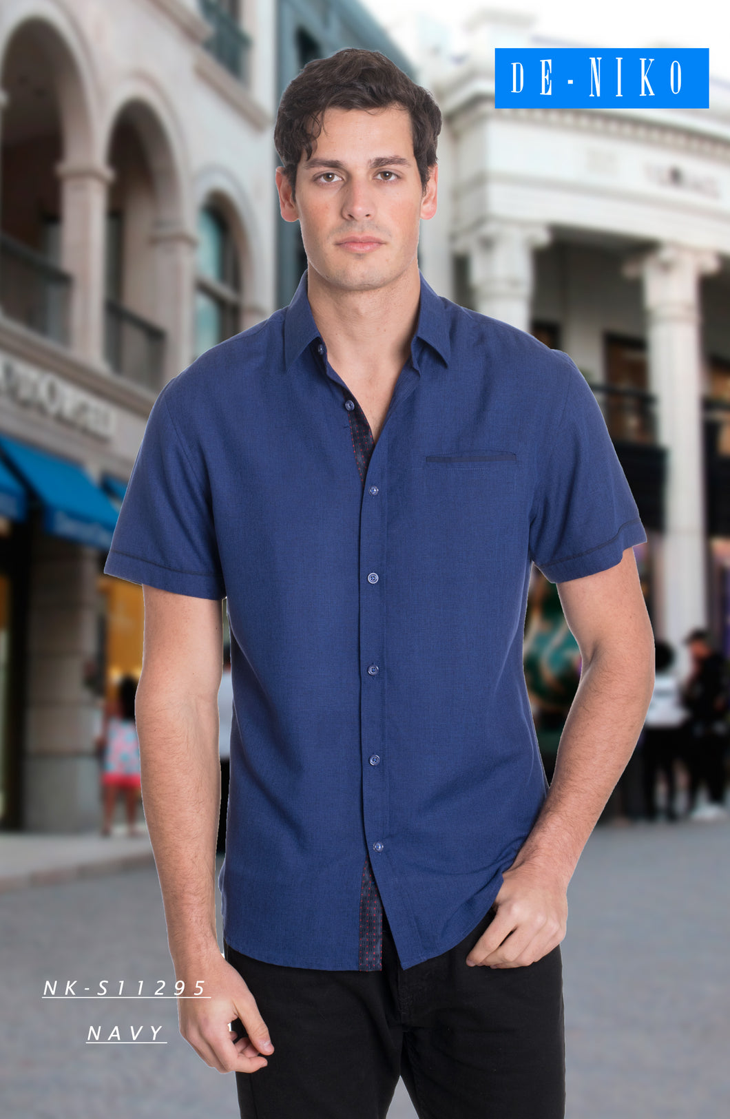 Men's Shirt NKS11295 NAVY
