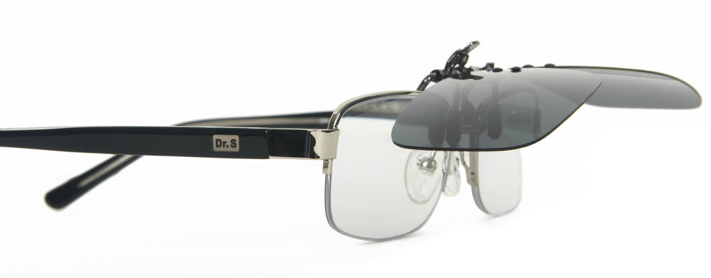 Polarized Clip-On Sunglasses